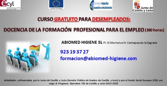 SSCE0110-Docencia de la formación profesional para el empleo
